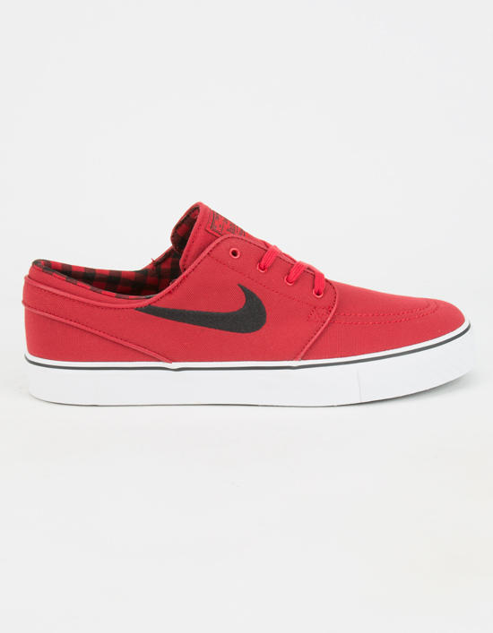 Nike Sb Zoom Stefan Janoski Canvas Mens Shoes Red In Sizes aa2b8e0ce