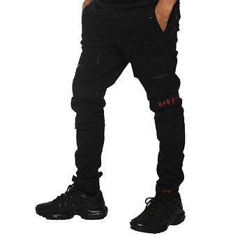 Strapped Up Slim Utility Pant Bred