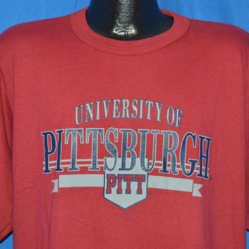 90s Pitt Pittsburgh University t-shirt Large