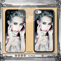 Miley cyrus iPhone 5s case, iPhone 5C Case, Miley cyrus iPhone 5 case, iPhone 4 Case Miley cyrus iPhone case Phone case ifg-00103