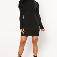 Kerry Knit Dress - Black