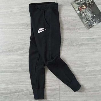 Nike Casual Women Black Sport Pants Trousers Sweatpants
