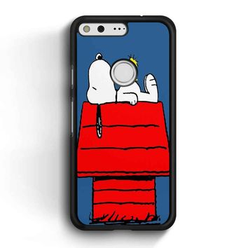 Snoopy And Woodstock Google Pixel Case