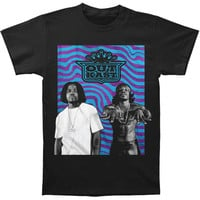 Outkast Men's  Wavy Photo Logo Slim Fit T-shirt Black Rockabilia