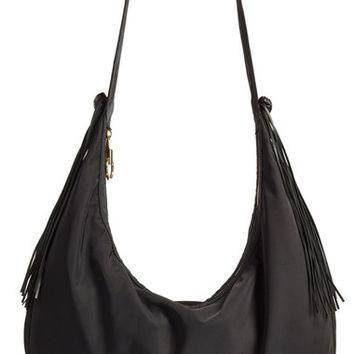 Elizabeth and James 'Large Zoe' Nylon Hobo Bag | Nordstrom