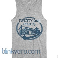 Twenty one pilot camp awesome unisex tank top adult