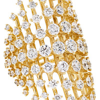 Fernando Jorge - Disco 18-karat gold diamond ring