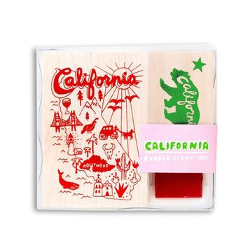 California Rubber Stamp Kit
