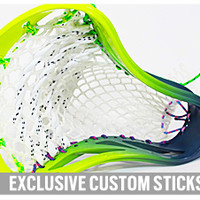 Limited Edition #merica Dyed Lacrosse Head | Lacrosse Unlimited