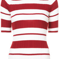 Jason Wu Striped Knitted Top - Farfetch