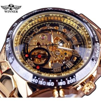 WINNER Automatic Skeleton Watch