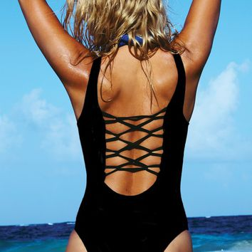Moda Black One Piece