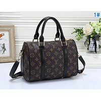 Louis Vuitton LV Fashion Women Leather Handbag Satchel Crossbody Shoulder Bag 1#