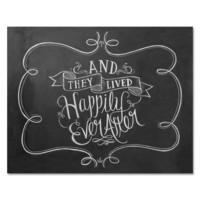 Happily Ever After - Print & Canvas