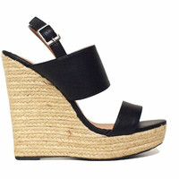 Laetitia Strappy Wedges-FINAL SALE