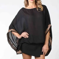 Marley Kimono Top in Black: Buy Vava by Joy Han at CoutureCandy.com