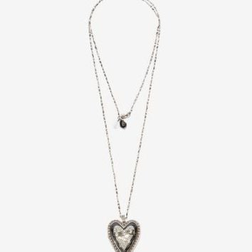 Heart Locket Necklace | Alexander McQueen