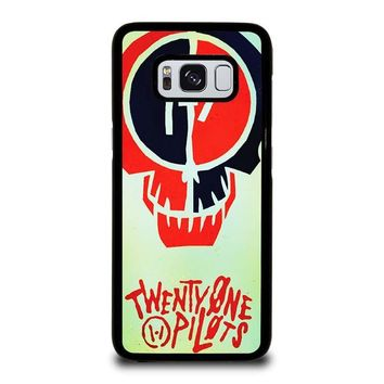 TWENTY ONE PILOTS SKULL Samsung Galaxy S3 S4 S5 S6 S7 Edge S8 Plus, Note 3 4 5 8 Case Cover