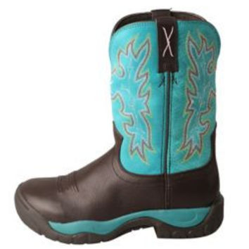 Twisted X Ladies All Around Turquoise Boots