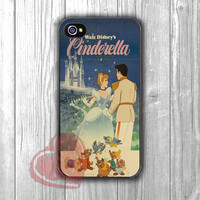 Cinderella vintage movie poster - shin for iPhone 4/4S/5/5S/5C/6/ 6+,samsung S3/S4/S5,samsung note 3/4