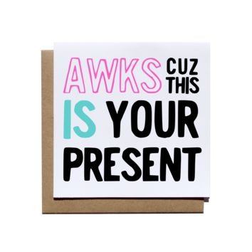 This Is Your Present Card
