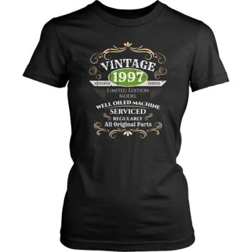 Women's Vintage 1997 21st Birthday T-Shirt Gift