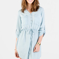 Tullahoma Chambray Shirt Dress