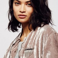 Free People Falling Crystals Safety Pin