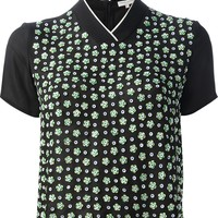 Opening Ceremony Cropped Floral T-Shirt