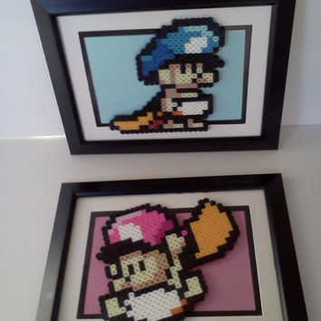 Baby Mario Baby Room Frame