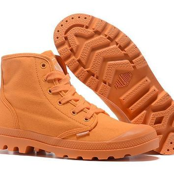 Palladium Pampa Hi Women High Boots Orange