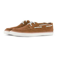 """Wire"" Suede Boat Shoes - TOPMAN USA"
