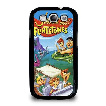 JETSONS MEET FLINTSTONES Samsung Galaxy S3 Case Cover
