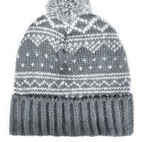 Scandi Fairisle Beanie - Hats - Bags & Accessories - Topshop USA