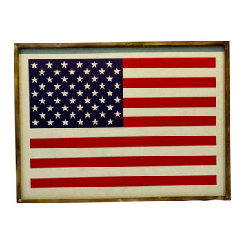 USA Flag Wall Decor