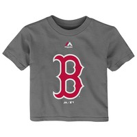 Majestic Boston Red Sox Primary Logo Tee - Baby, Size: