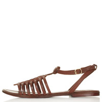 FORWARD Vintage Woven Sandals - New In This Week - New In - Topshop