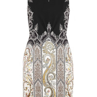Etro - Printed stretch-crepe dress