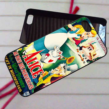 Alice in Wonderland Disney clasic - case iPhone 4/4s,5,5s,5c,6,6+samsung s3,4,5,6