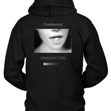 ESBH9S The Weeknd Girl Fly Hoodie Two Sided