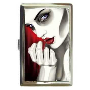 """Zombie Girl """"Outlaw"""", cigarette, money, card case"""