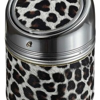 Visol Cylinder Animal Print Stainless Steel Cigarette Ashtray