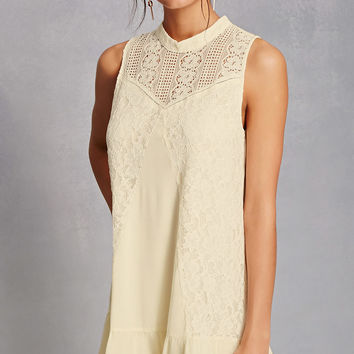 Tassels N Lace Crochet Dress