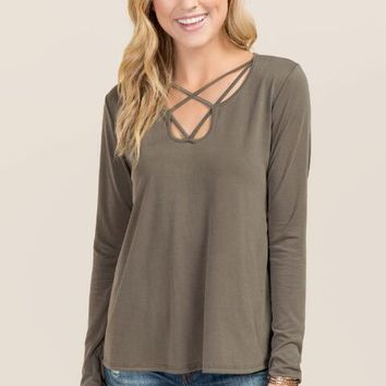 Meryl lattice front cupro top