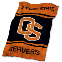 Oregon State Beavers NCAA UltraSoft Fleece Throw Blanket (84in x 54in)