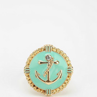 Urban Outfitters - Rhinestone Anchor Ring