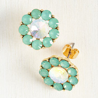 Two Can Play That Glam Earrings   Mod Retro Vintage Earrings   ModCloth.com