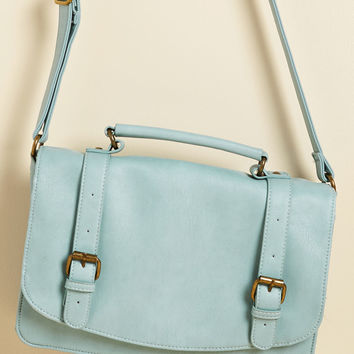 Advised Intellectual Bag in Ice | Mod Retro Vintage Bags | ModCloth.com
