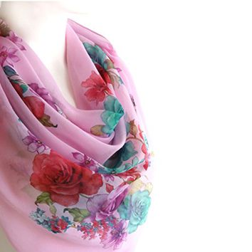 BUY ANY 3 GET 1 OF THEM FREE, gift for her, girlfriend gift, large cotton scarf, pale pink scarf, unique gift ideas, large square scarf, christmas gift, fall fashion