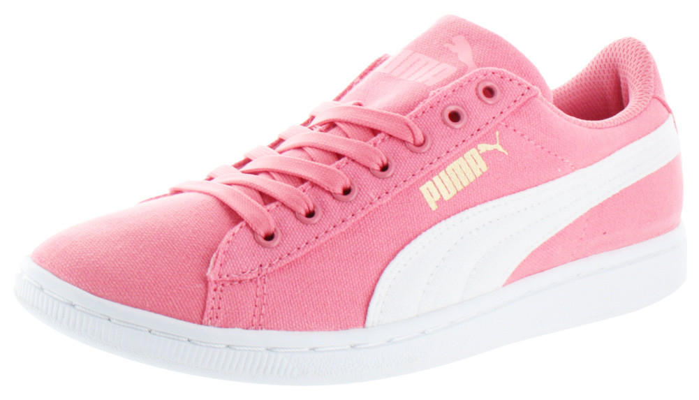 5c5e4a2a075d Puma Vikky Women s Low Canvas Sneakers from Street Moda